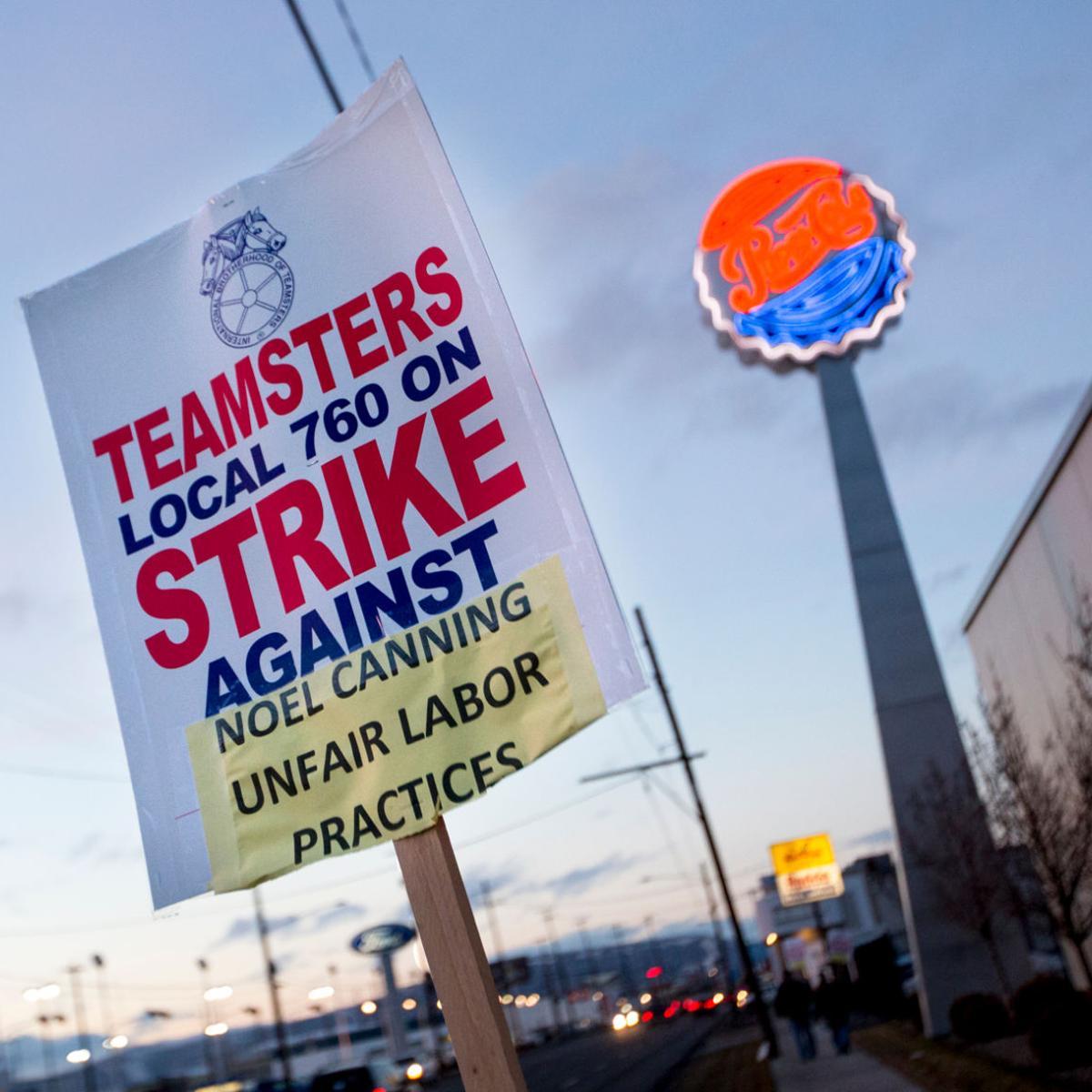 Noel Canning workers no longer represented by Teamsters