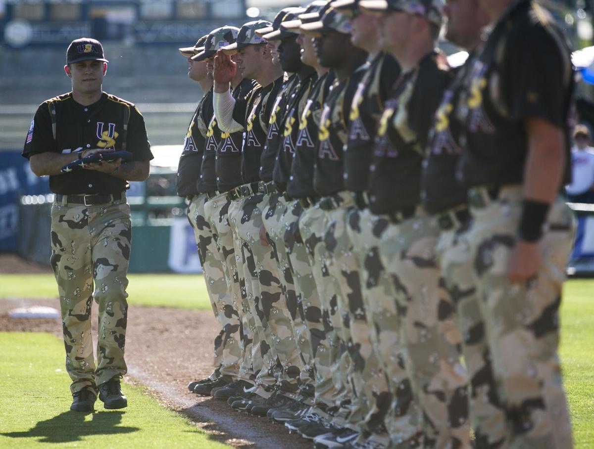 95a4b5e1b9ae Baseball  U.S. Military All-Stars vs. Yakima Valley Pepsi Pak ...