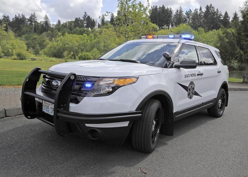 Washington State Patrol Vehicle