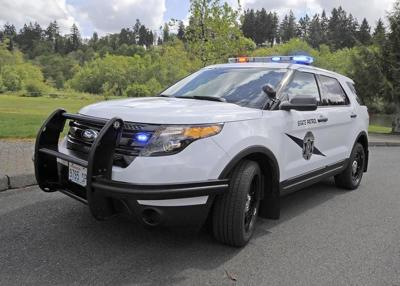 Washington State Patrol Vehicle