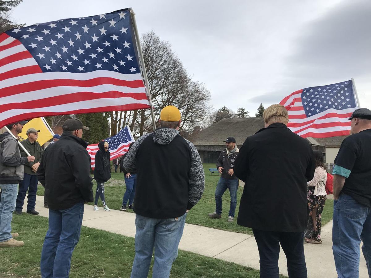Flash rally 1 Patriot Prayer