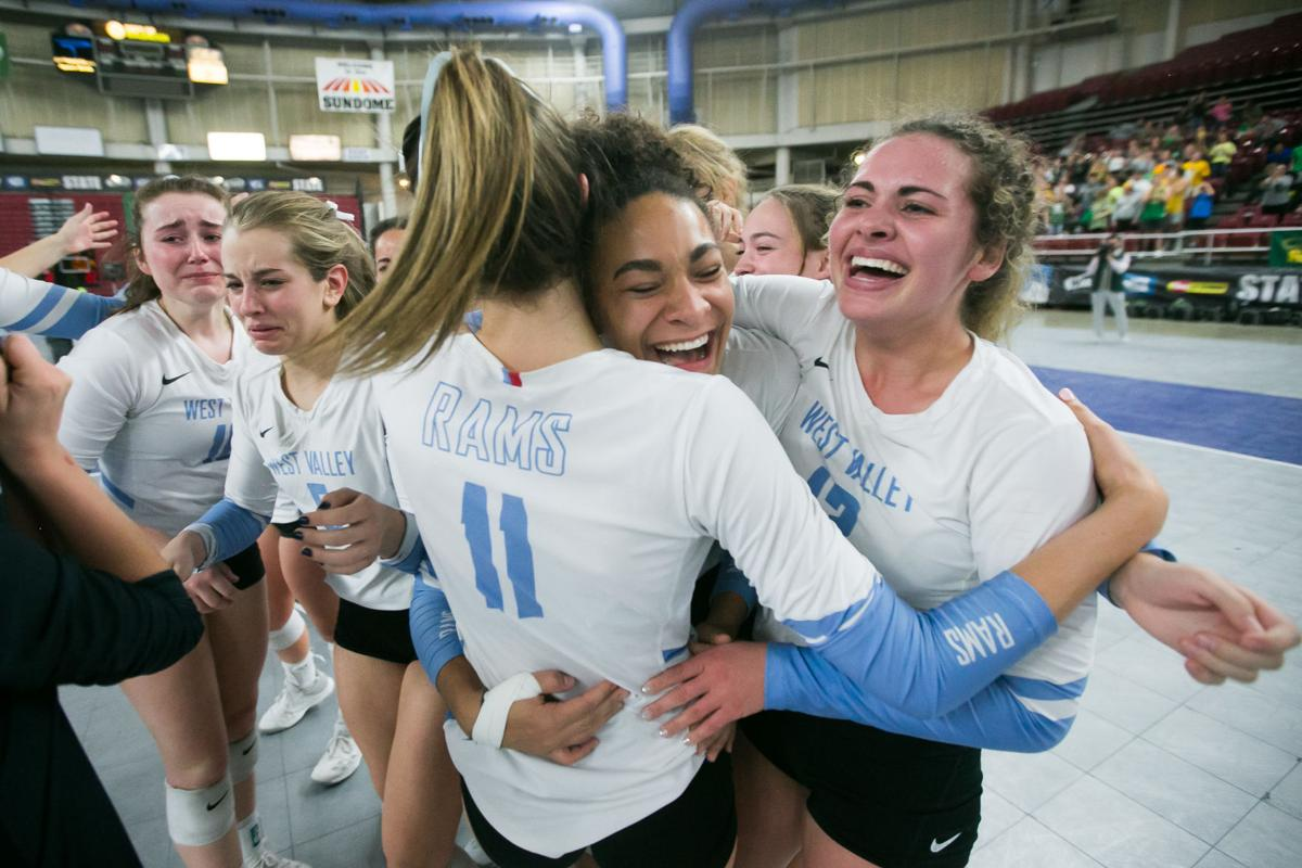 1815a8ee Crowd Pleasers: West Valley volleyball wins Class 4A state title in ...
