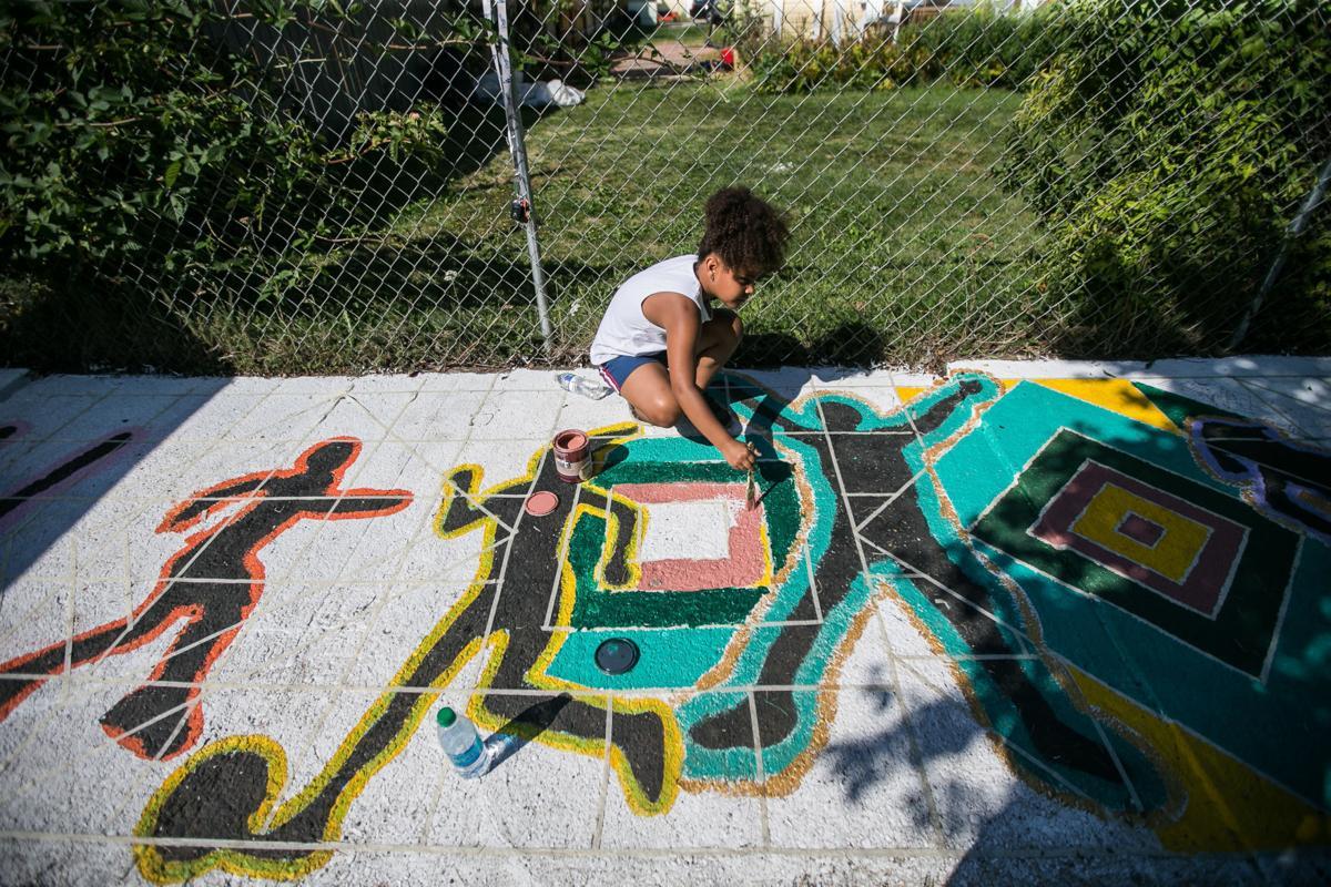 Children mural