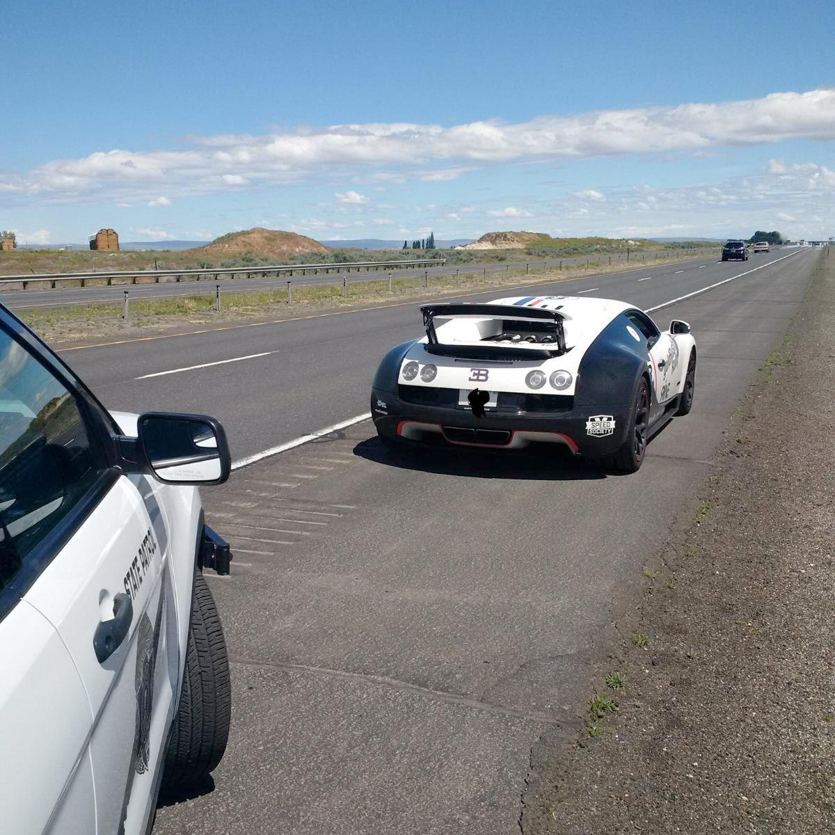 High Speed I 90 Run Ends With Lamborghini Impounded Driver Facing