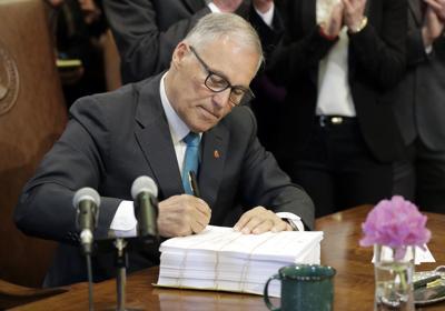 Inslee Budget Signing