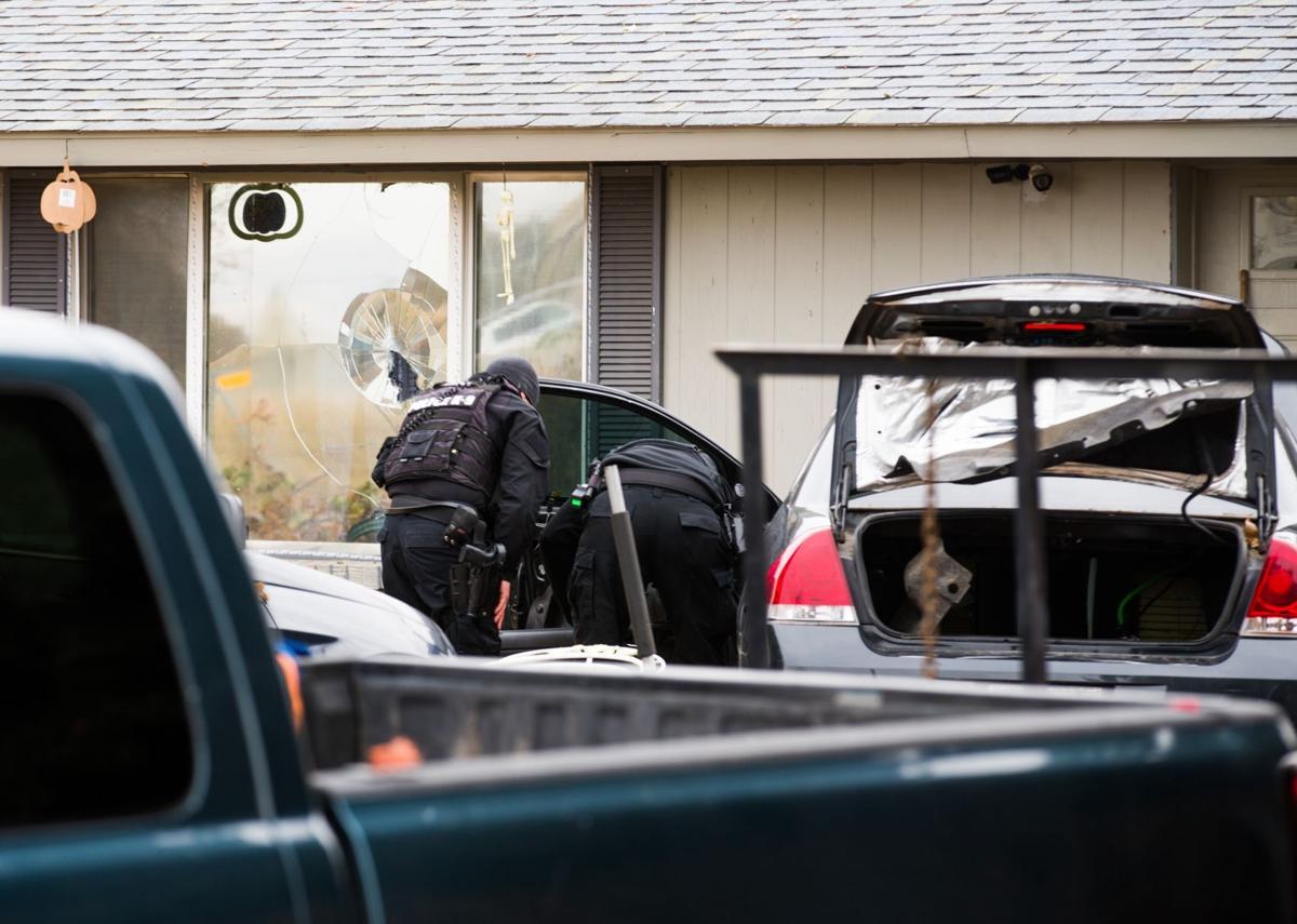 Federal drug task force serves warrant on home outside