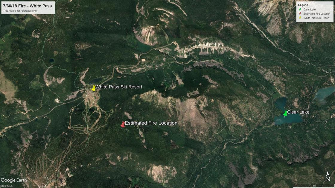 Miriam Fire May Threaten Clear Lake Campers Pacific Crest Trail