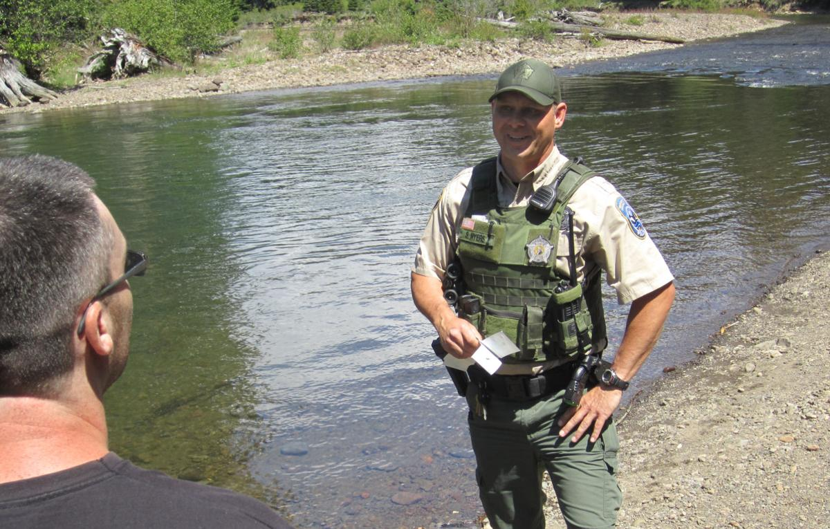Enforcing laws educating sportsmen a give and take for for Wdfw fishing regulations