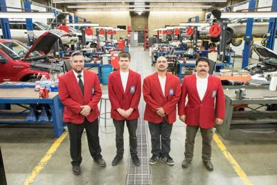 Automotive Service Technology students at Yakima Valley College earn honors in competition