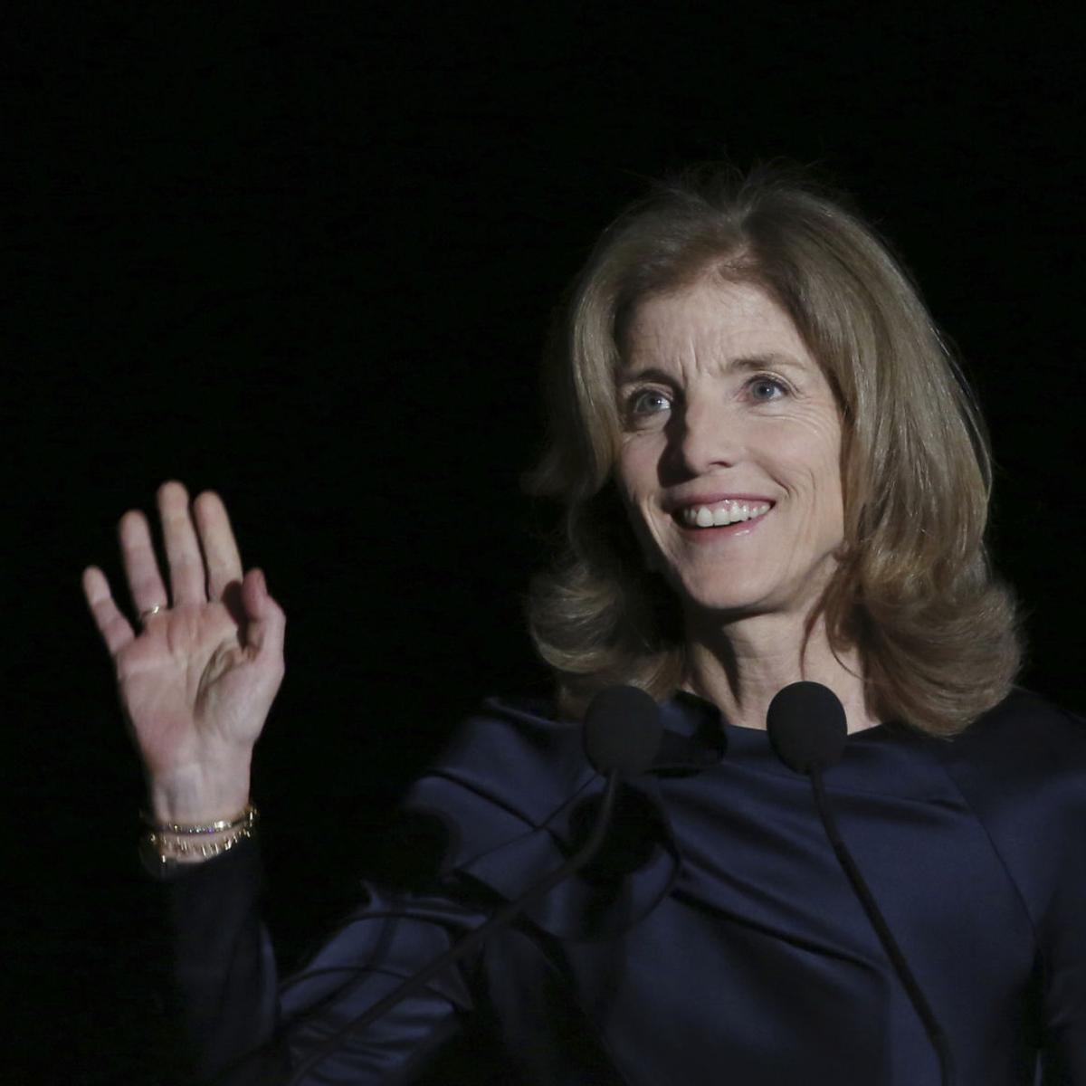 Caroline Kennedy None Of Us Can Stand On The Sidelines Local