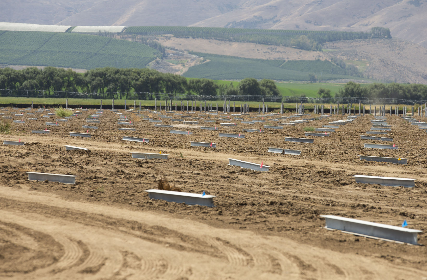 While Central Washington is known for its hops, apples and cherries, it is also becoming a producer of renewable energy