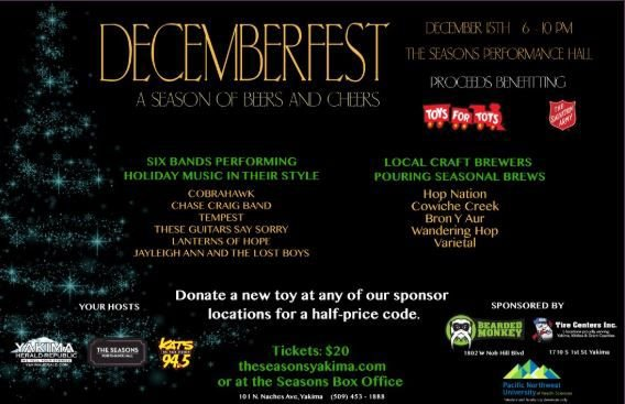 Decemberfest: Beers and Cheers with 6 Bands