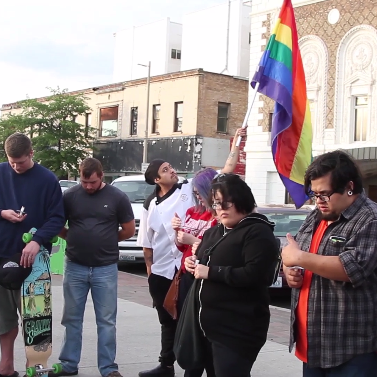 Video: Rainbow Cathedral organizes gathering in response to Orlando shooting