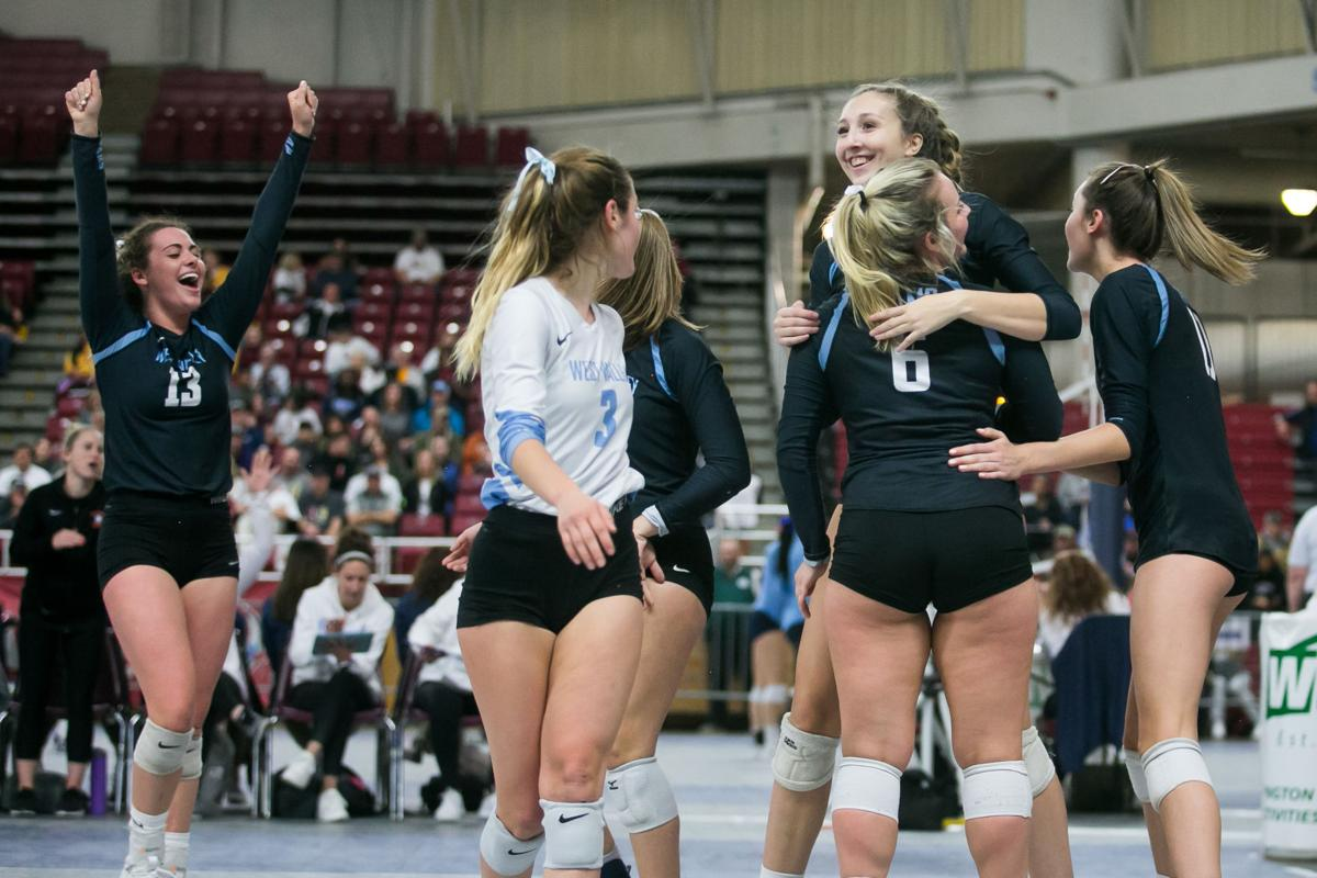 9ef8eb32 West Valley volleyball rolls to semifinals in Class 4A tournament in ...