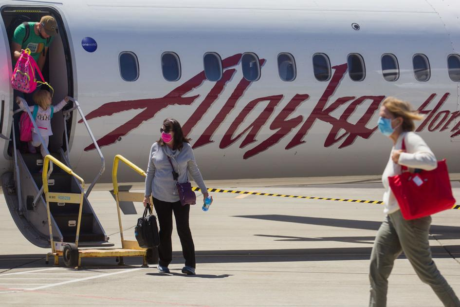 As passenger numbers increase, Yakima Airport makes case for adding a 3rd daily Alaska Airlines flight
