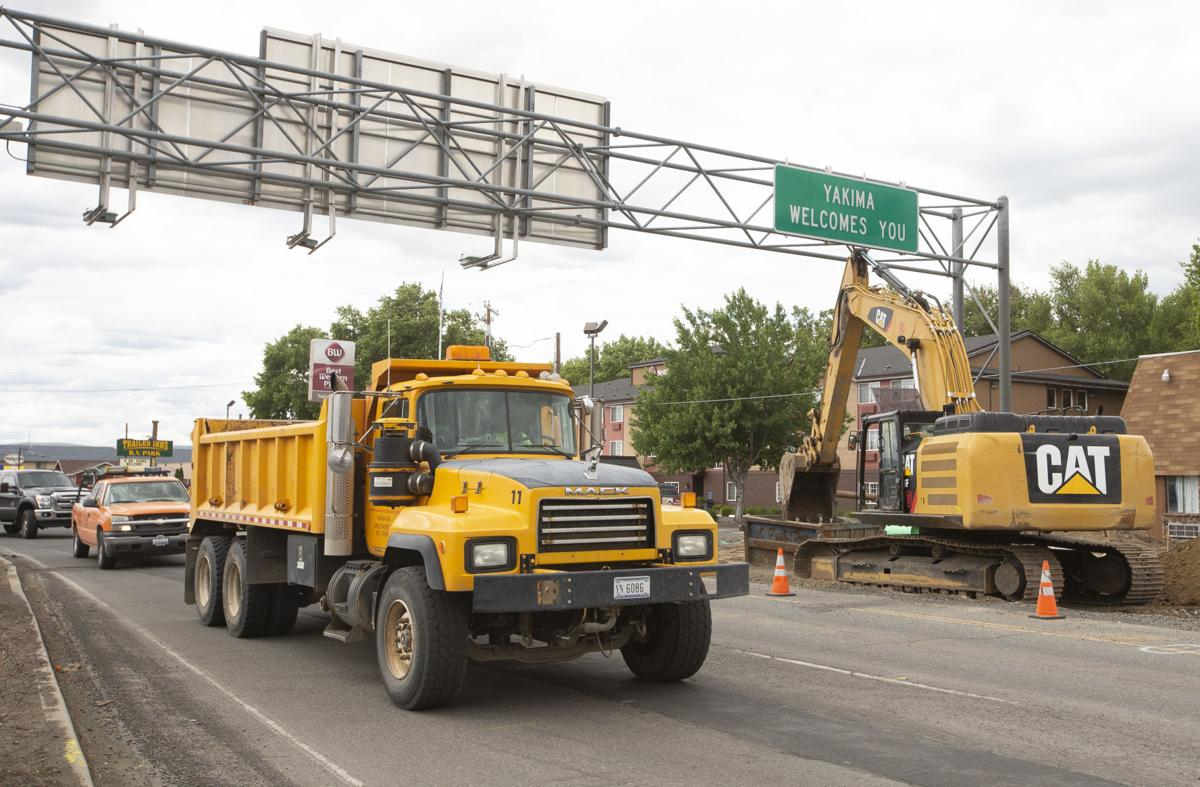 North First Street Businesses Coping With Road Construction Local Yakimaherald Com