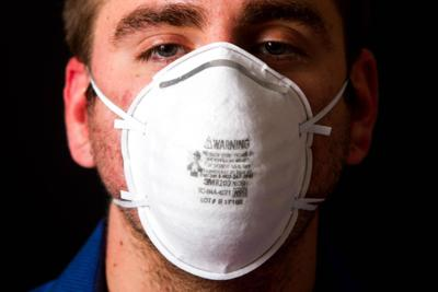 N95 masks are designed to create a tight seal around the nose and mouth and filter smoke particles from the air.