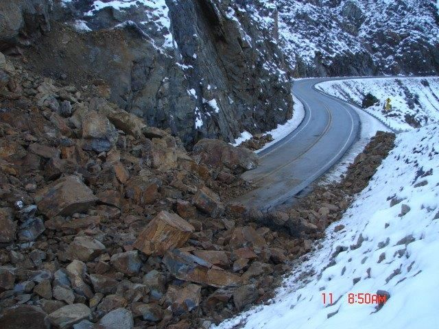 Highway 2 Rock Slide