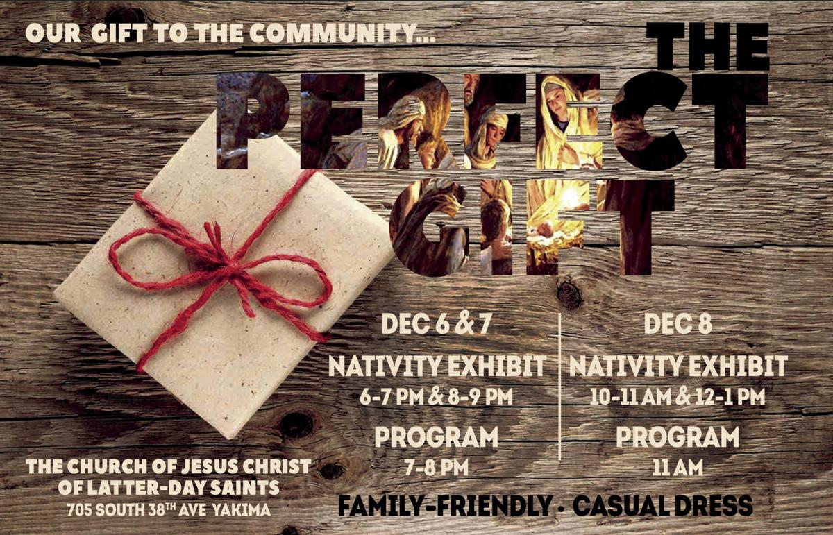 The Perfect Gift - nativity exhibit and musical program