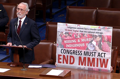 Newhouse leads hourlong meeting before U.S. House calling for Congressional action on missing and  murdered indigenous women