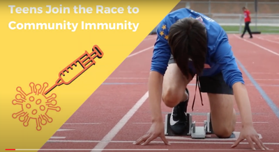 Teens Join the Race to Community Immunity