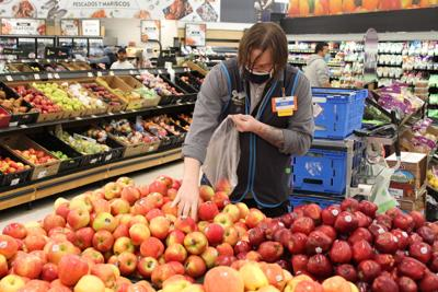 Personal shopper at the Yakima Avenue Wal-Mart