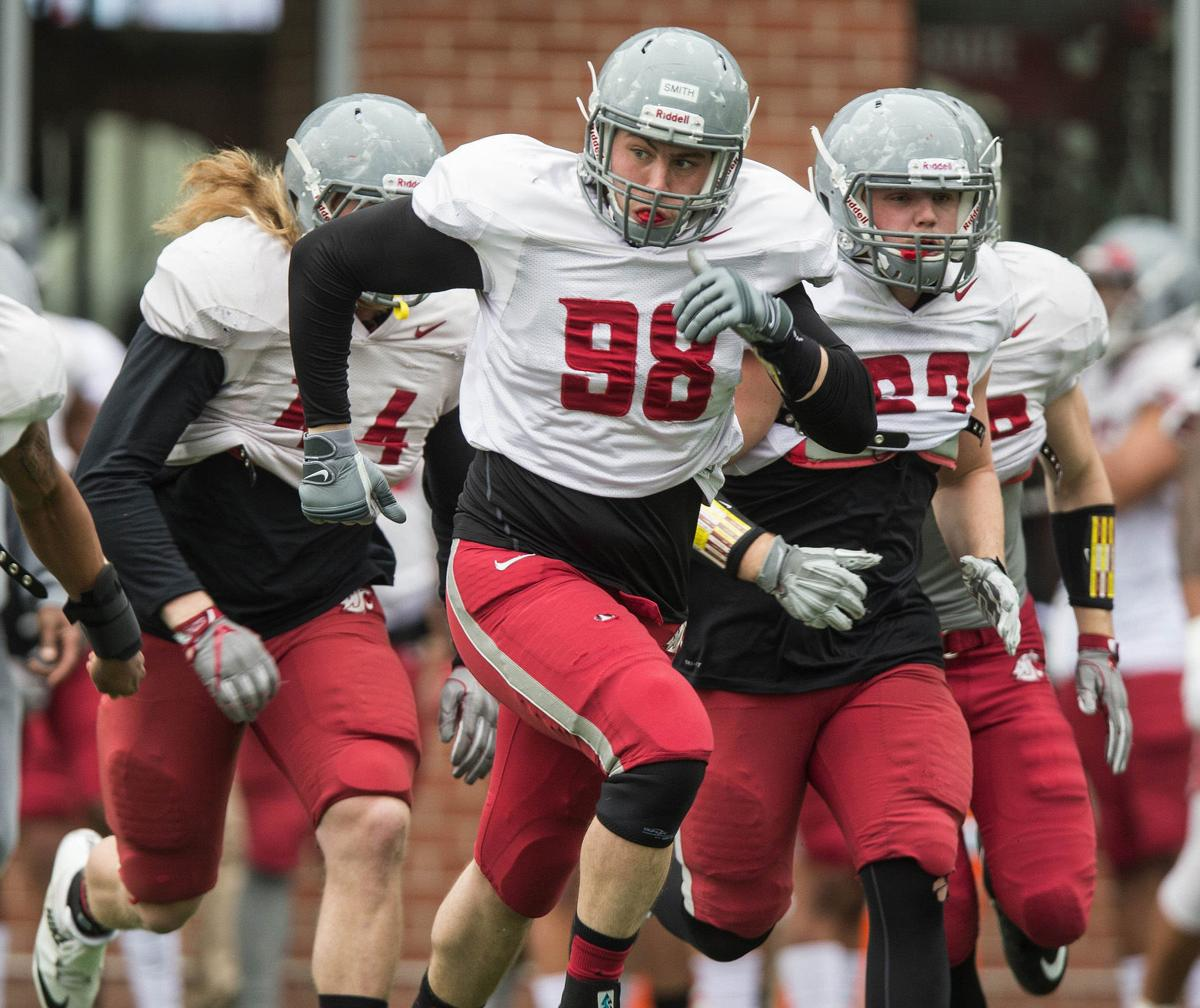 Former Marine Nicholas Smith wants to become Washington State football  player fa7209959