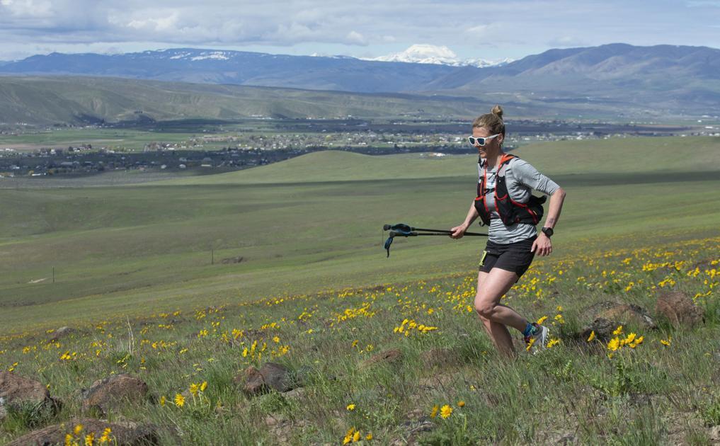 Fueled Up: Traer, Trygstad-Saari work hard to remain energized in winning hot Yakima Skyline 50K