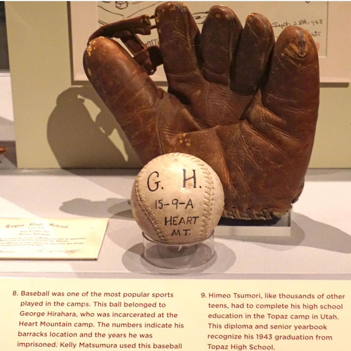 Items from Yakima father and son incarcerated at Heart Mountain, Wyo., part of Smithsonian exhibition