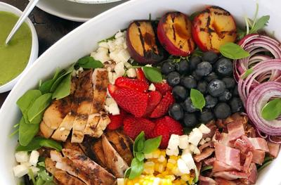 Kitchen Captivated: Grilled Summer Cobb Salad