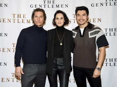 "NY ""The Gentlemen"" Cast Photo Call"