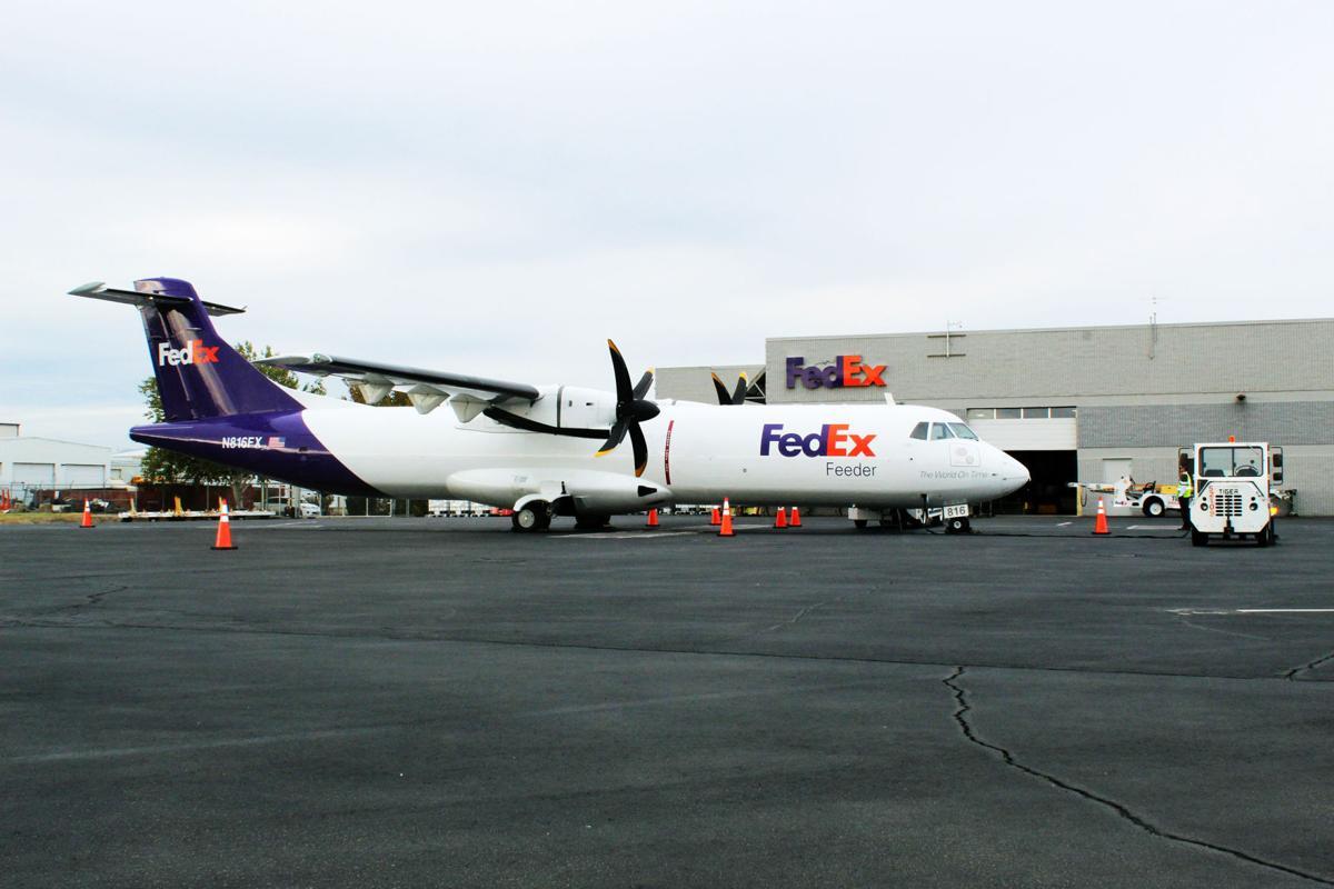 FedEx aircraft