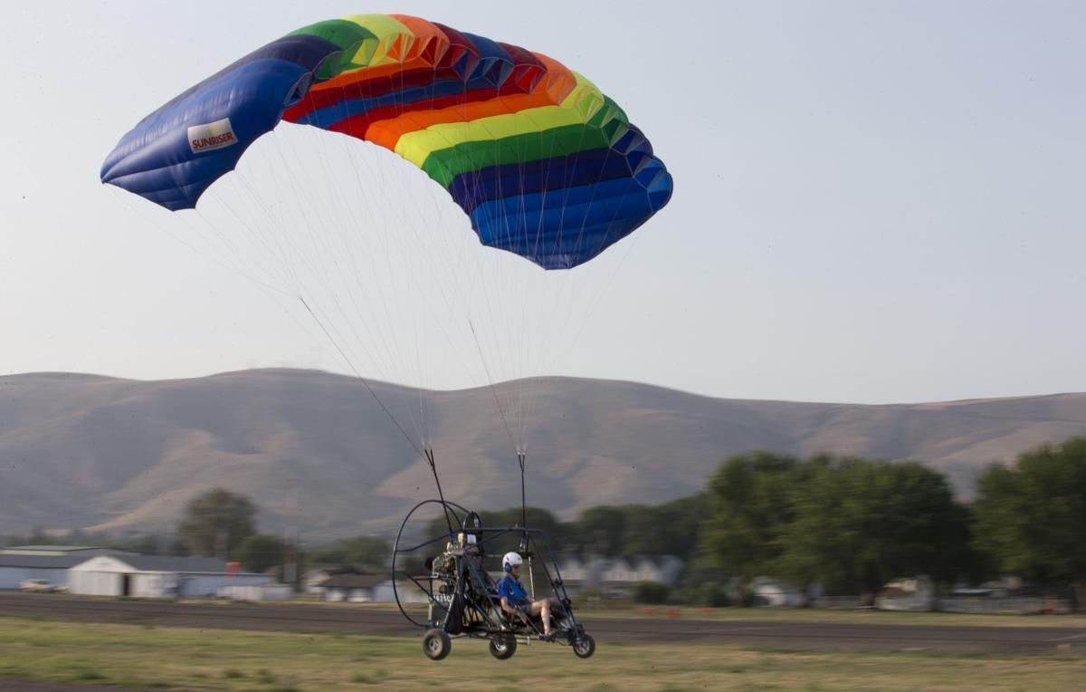 Prosser man's powered parachute business fills niche high in the sky