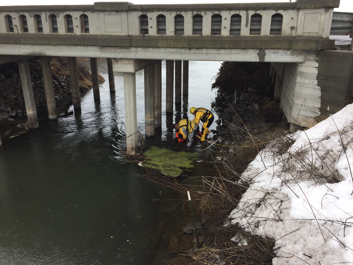 Yakima County Sheriff's Office Swift Water Team recovered the body