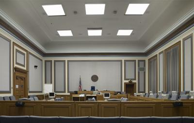 William O. Douglas Courthouse courtroom