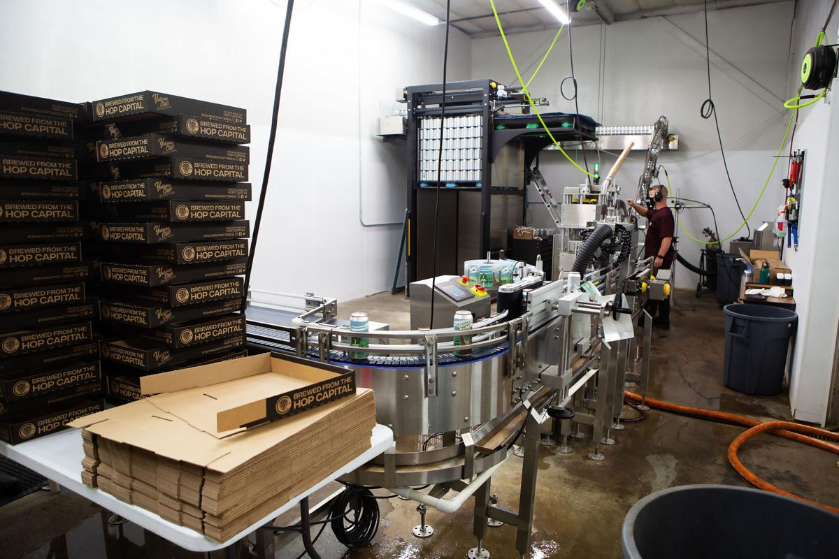 Yakima Valley brewers retool, repackage