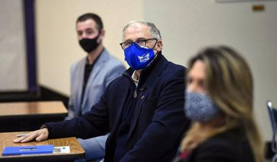 Gov. Jay Inslee with mask