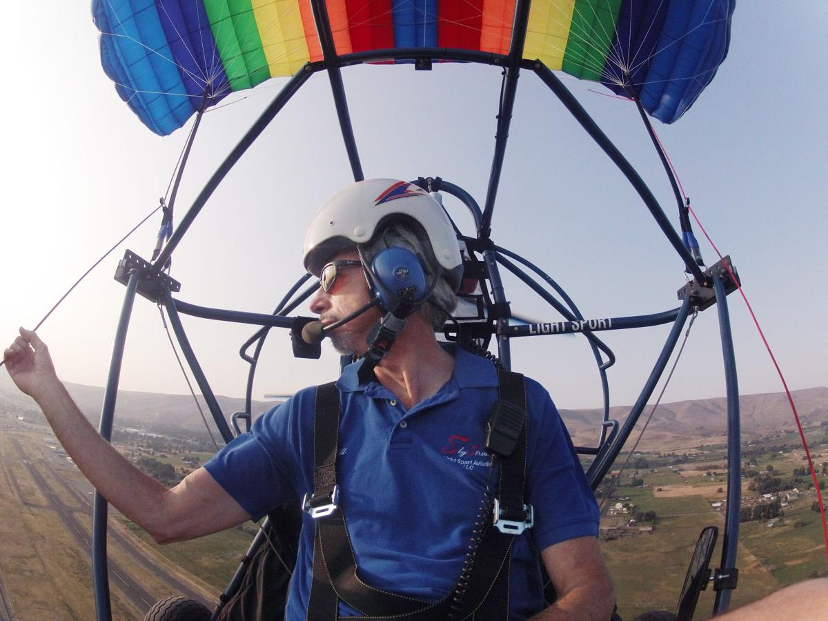Prosser man's powered parachute business fills niche high in the sky
