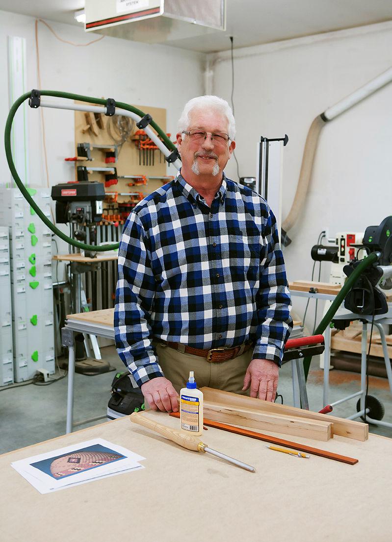 Blaine Cyr Turning Wood To Art Art Yakimaherald Com