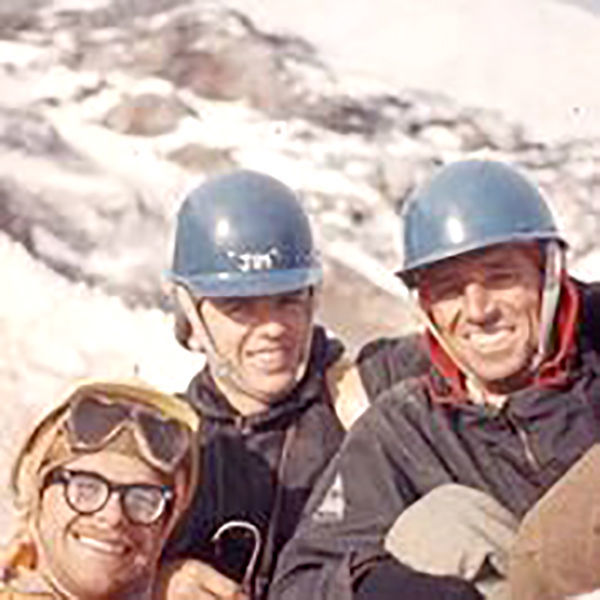 WIllis Wall atop East Rib Don Anderson Jim Wickwire Dave Mahre.jpg