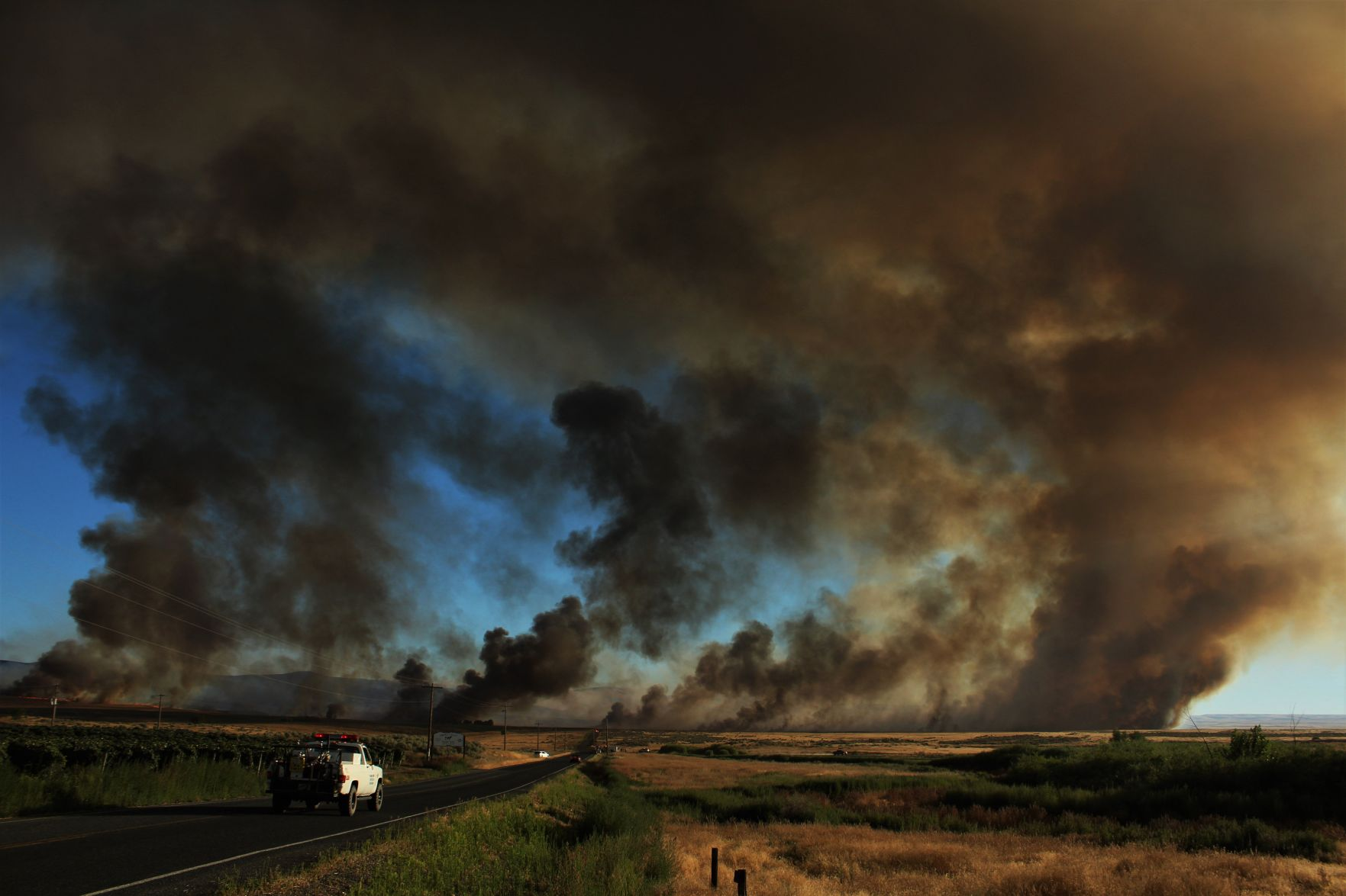 Glade Fire burns thousands of acres in Yakima Co