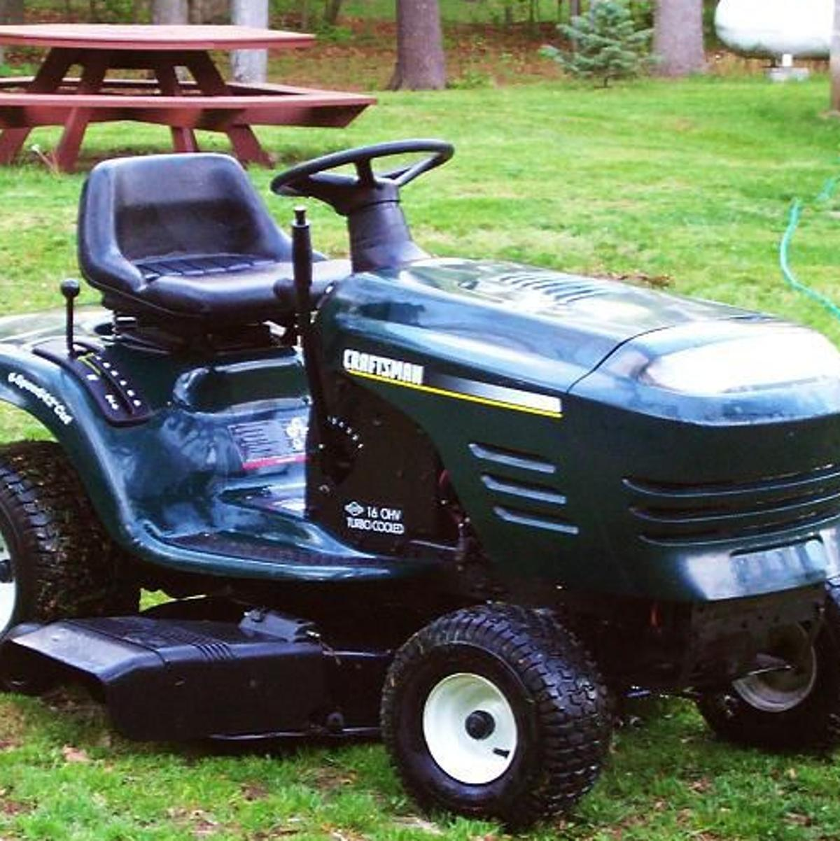 Is a riding mower a vehicle? Supreme Court will have to