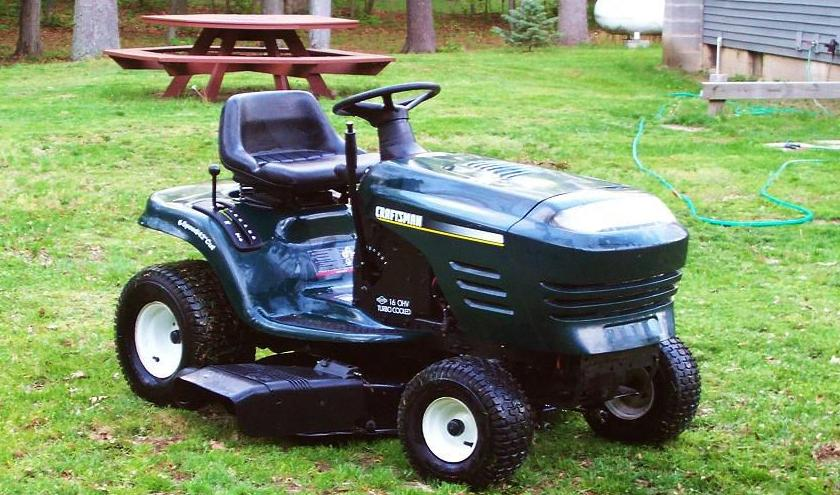 is a riding mower a vehicle supreme court will have to