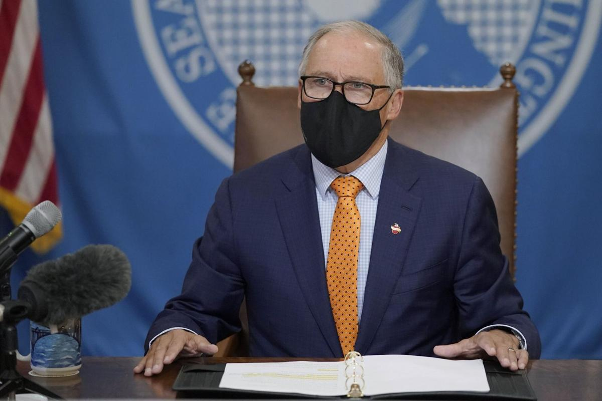 Washington Gov. Jay Inslee will discuss the state's response to the pandemic and the recent surge in coronavirus cases.