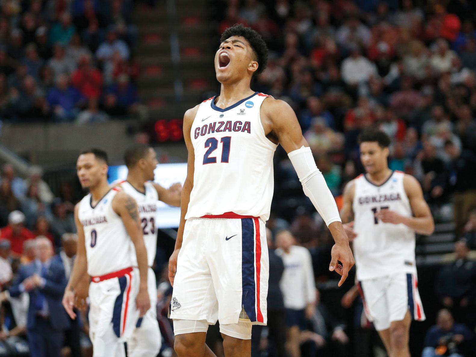 Gonzaga men's basketball has no trouble in NCAA tournament opener   News Watch   yakimaherald.com