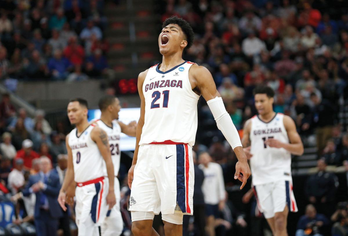 b0133c100ccd Gonzaga men s basketball has no trouble in NCAA tournament opener ...
