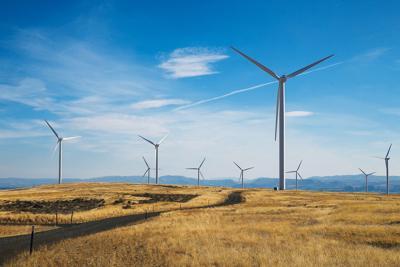 Wind farm - ellensburgx