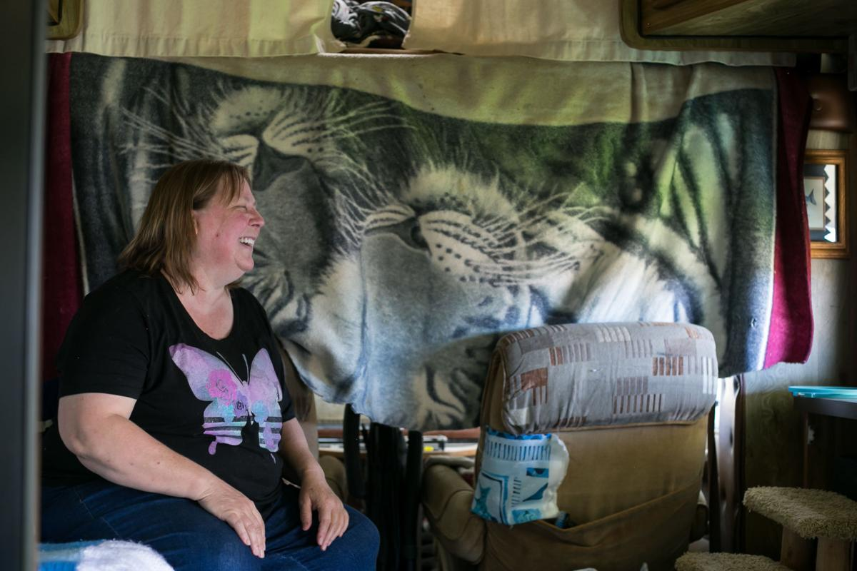One step up from living on the streets:' RVs give people