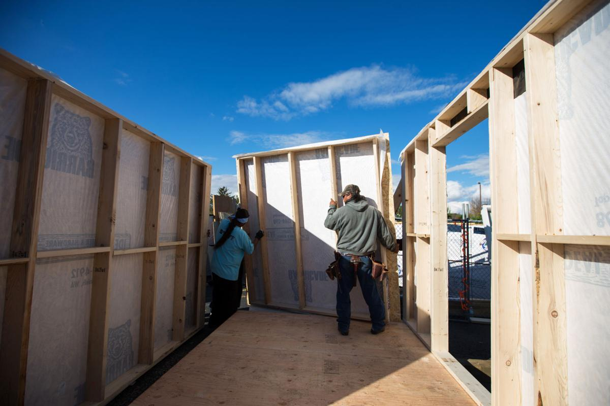 Yakamas to build tiny houses for homeless | Lower Valley ... on native american sites in nh, native american grass houses, native americans igloos, native american hogan, native american lodge, native american indian tribe diorama, native american yurok history, native american wooden houses, native american wickiup, native american teepee, native american homes, native american wattle and daub, native american bolo ties for men, native american round houses, native american paper artwork, native american adobe houses, native american wigwams, native american indian shelters, native american yurt, native american houses school project,