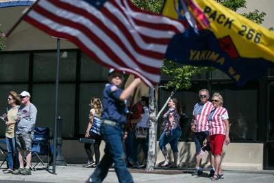 Memorial Day parade is Saturday morning in downtown Yakima